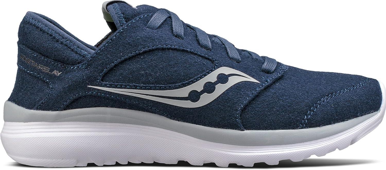 Saucony Women's Kineta Relay Wool Sneaker B01NBL3GZB 5.5 B(M) US|Navy