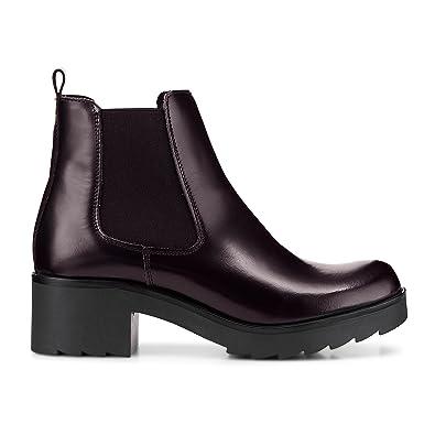 Another A Damen Damen Zipper Boots aus Leder, Stiefeletten