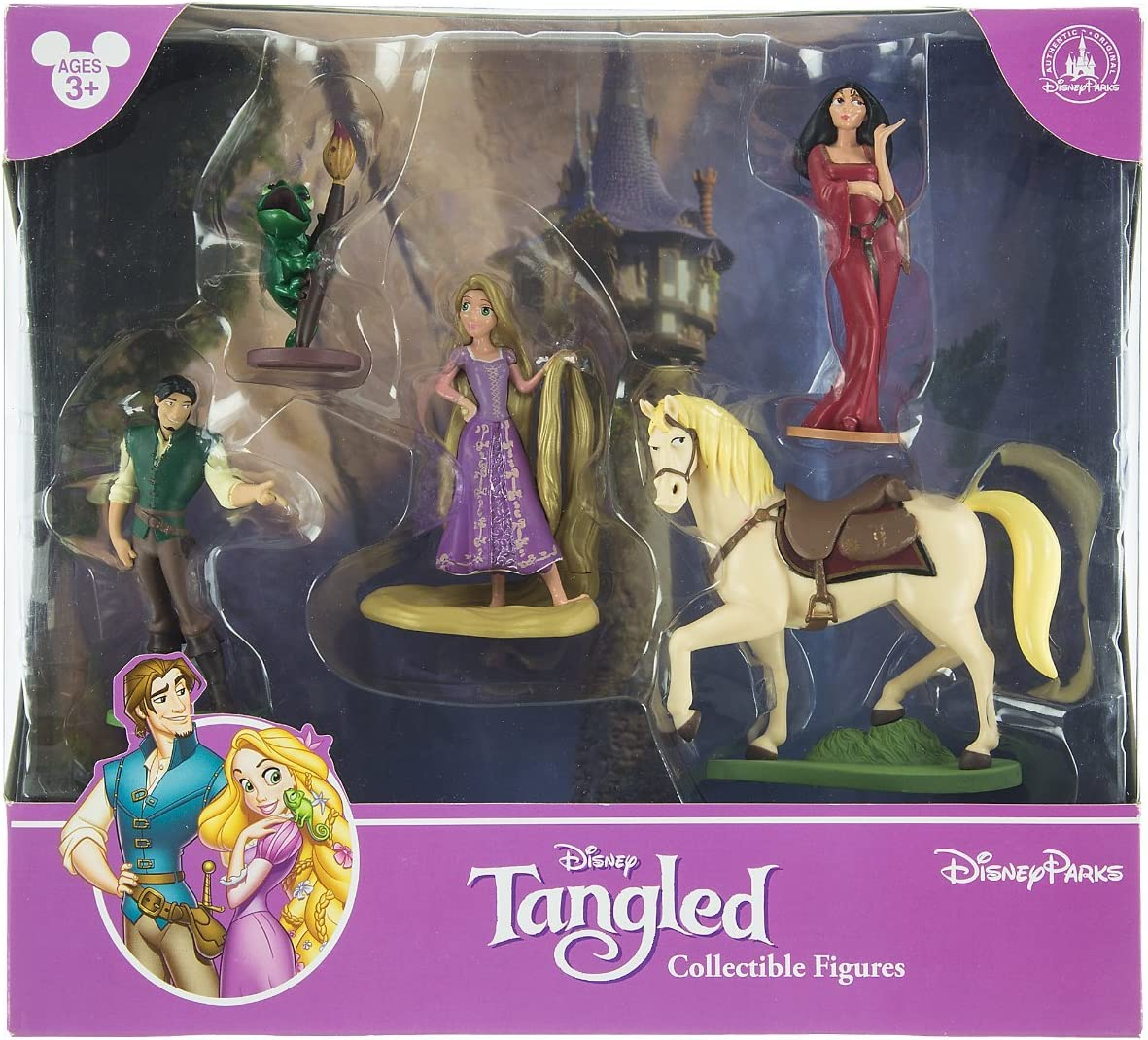 B00CWMIEZ2 Disney Park Tangled Rapunzel Figurine Playset Play Set Cake Topper 81V4CTYoMoL