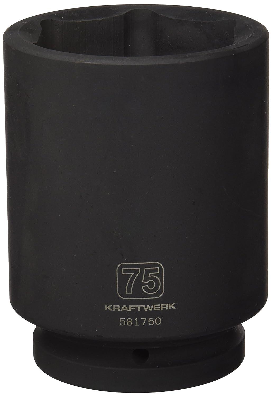 KRAFTWERK 581750 Vaso impacto largo 1 pulgada