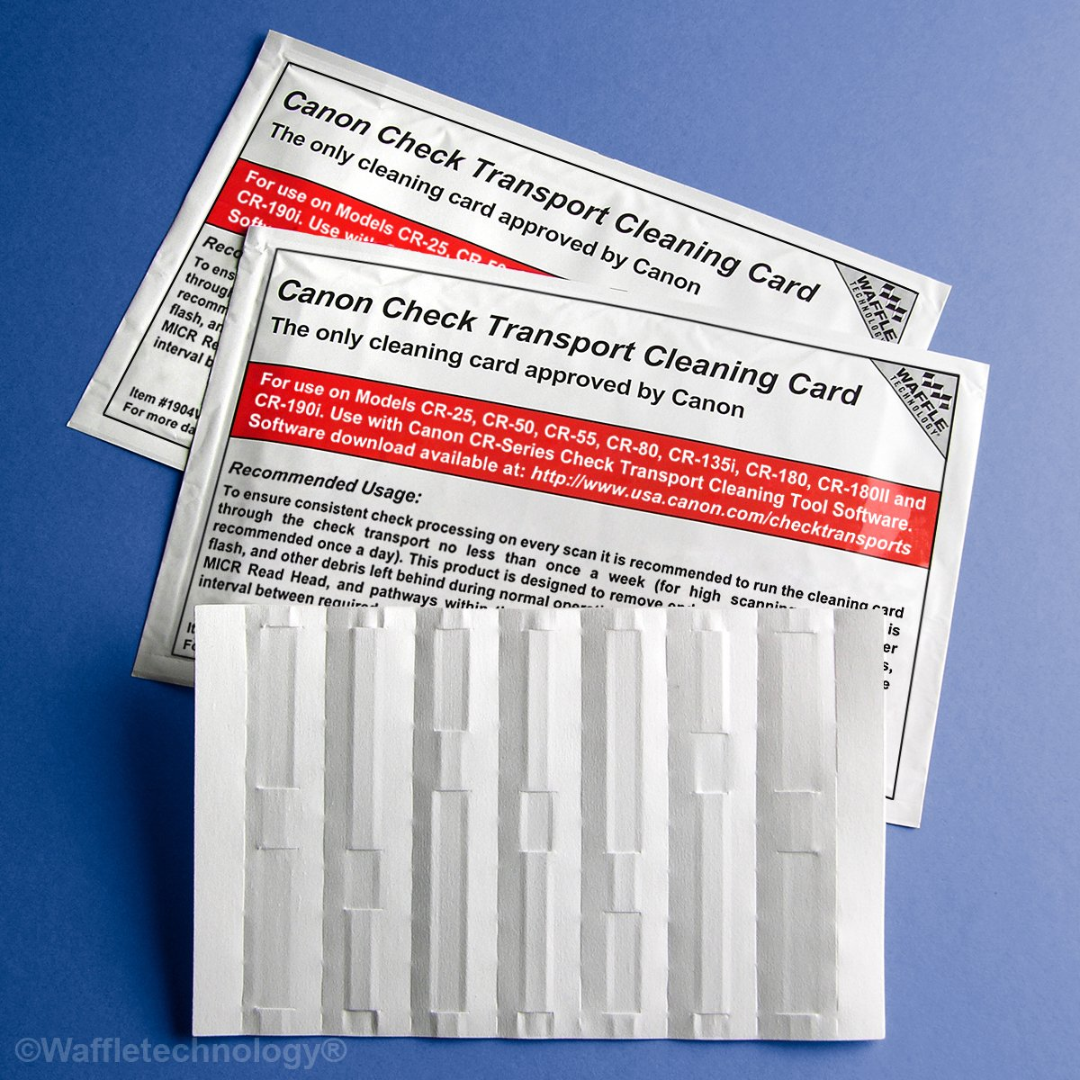 Cleaning Cards for Canon CR-Series Check Scanners (30)