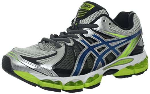 ASICS Men's GEL-Nimbus 15 Running Shoe,Lightning/Blue Steel/Lime,