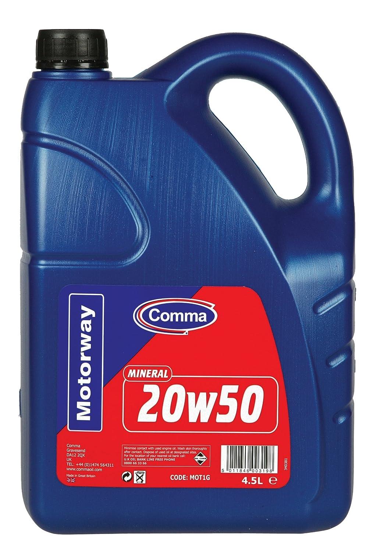 Comma MOT1G Motorway - Aceite Mineral de Motores Gasolina y ...