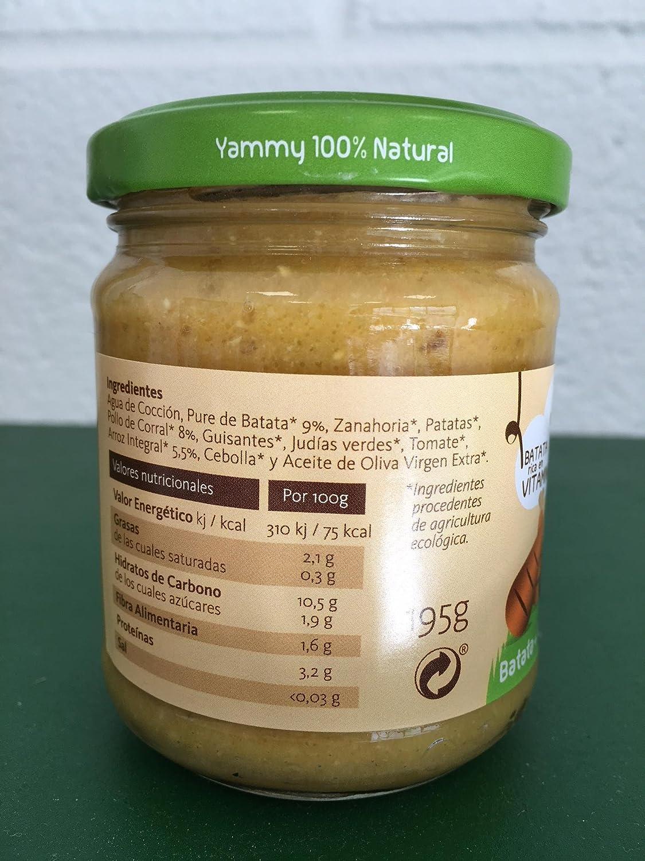 Yammy - Potito Ecológico de Carne: Verduras+Ternera+Quinoa Pack 6 Unidades: Amazon.es: Alimentación y bebidas