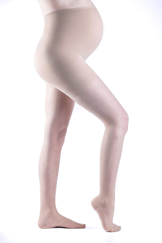 2c84672bb9 Amazon.com: SIGVARIS Women's Sheer Fashion 120 Maternity Compression  Pantyhose 15-20mmHg: Health & Personal Care