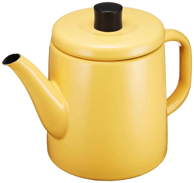 amazoncom noda horo enamel pottle (yellow) teakettles kitchen  - amazoncom noda horo enamel pottle (yellow) teakettles kitchen  dining