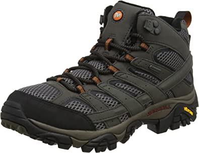 mens merrell moab 2 leather gtx shoes gu