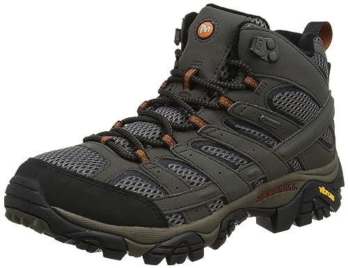 Merrell Moab Fst, Stivali da Escursionismo Uomo, Nero (all Black), 44.5 EU