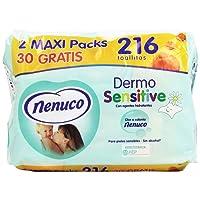 Nenuco Toallitas Dermo Sensitive - 216 unidades