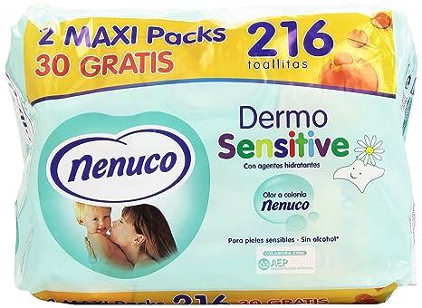Nenuco Toallitas bebé Dermosensitive 216 unidades
