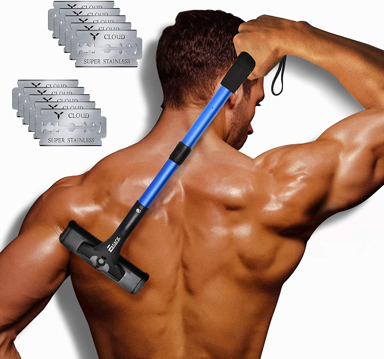 EASACE Rückenrasierer Herren-Rückenrasierer - Rückenhaare entfernen