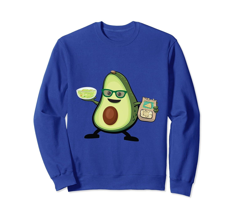 Avocado Match Tacos & Guacamole Dip Funny Gift Sweatshirt-TH
