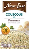 Near East Couscous Mix, Parmesan Cheese 5.9oz. (Pack of 12 )