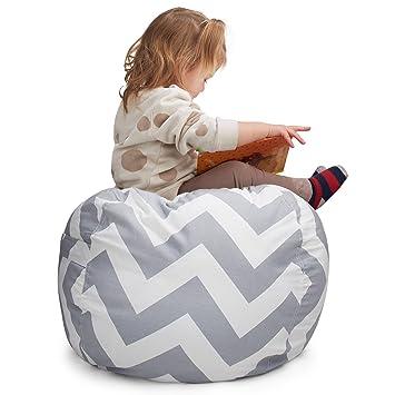 Smart Additions Stuffed Animal Storage Bean Bag Chair