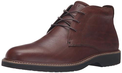 Ecco IAN, Botines para Hombre, Marrón (RUST1060), 45 EU: Amazon.es: Zapatos y complementos