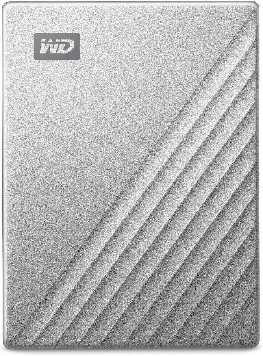 WESTERNDIGITAL Mac用ポータブルHDD 5TB USB Type-C タイムマシン対応 My Passport Ultra for Mac