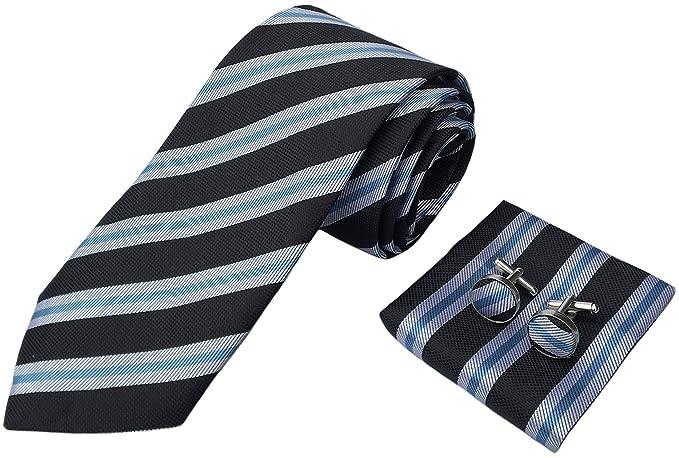 Amazon.com: Gemelos para hombre, diseño de rayas, traje de ...