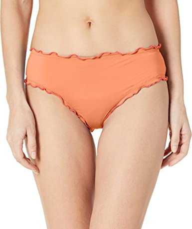 Hobie Juniors Ruffled Solid Hipster Bikini Bottom
