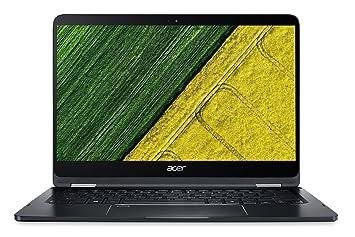 Acer Spin 7 SP714-51 14-inch Laptop (7th Gen Intel Core i7-7Y75/8GB/256GB/Windows 10/Intel HD Graphics 615), Black Laptops