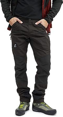 RevolutionRace Pantalones impermeables para hombre [Transpirables y duraderos] para senderismo, camping, escalada, ciclismo de montaña y caza, todo el ...
