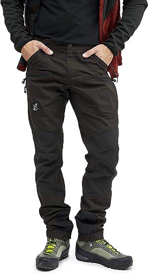 Revolutionrace Pantalones Impermeables Para Hombre Transpirables Y Duraderos Para Senderismo Camping Escalada Ciclismo De Montana Y Caza Todo El Ano Amazon Es Ropa Y Accesorios