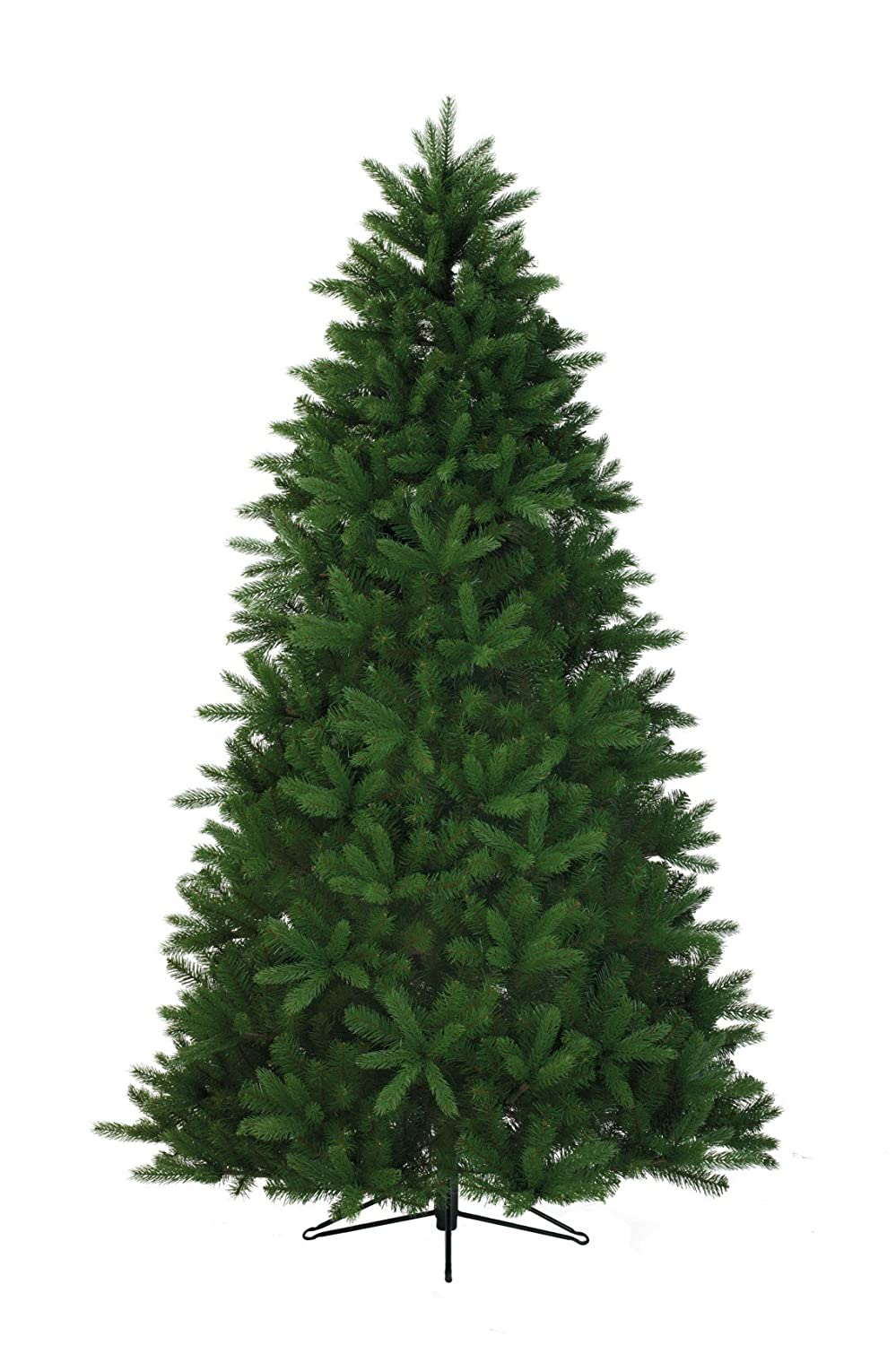 Kaemingk Everlands - 6ft / 180cm Bergen Spruce Artificial Christmas Tree - PVC and PE Mixed Needles with 1143 Hand Crafted Branch Tips 688801