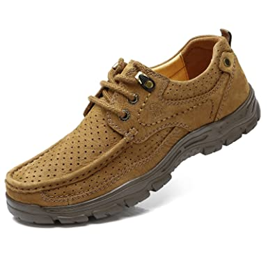 Mens Outdoors Footwears Casual Textile Sude Leather Nonslip Walking Shoe  MVV3VNJRK