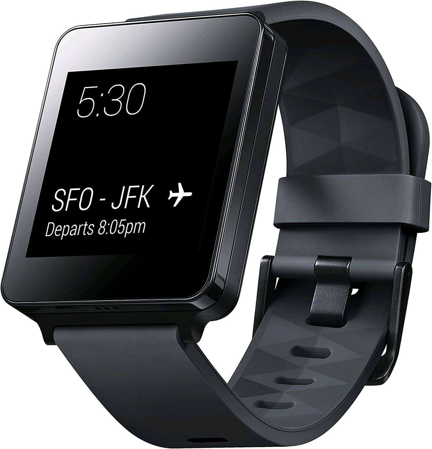 LG Electronics G Watch - Retail Packaging - Black