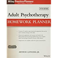 Image for Adult Psychotherapy Homework Planner (PracticePlanners)