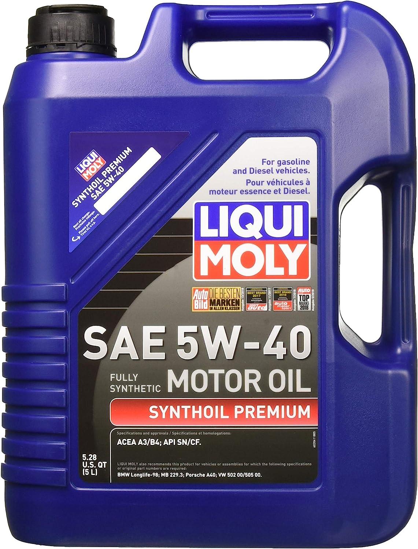 Liqui Moly 2041 Premium Synthetic Motor Oil
