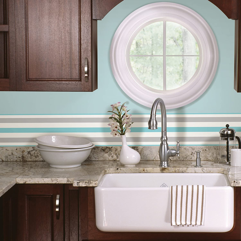 BHF FDB50026 Ceramica Stripe Kitchen and Bathroom Self Adhesive ...