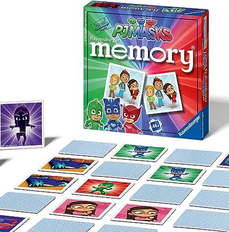 Ravensburger PJ Masks Juego de Memoria: Amazon.es: Juguetes y juegos