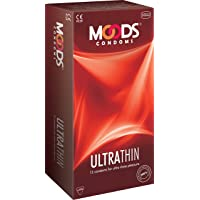 Moods Ultra Thin Condoms, 12 Pieces