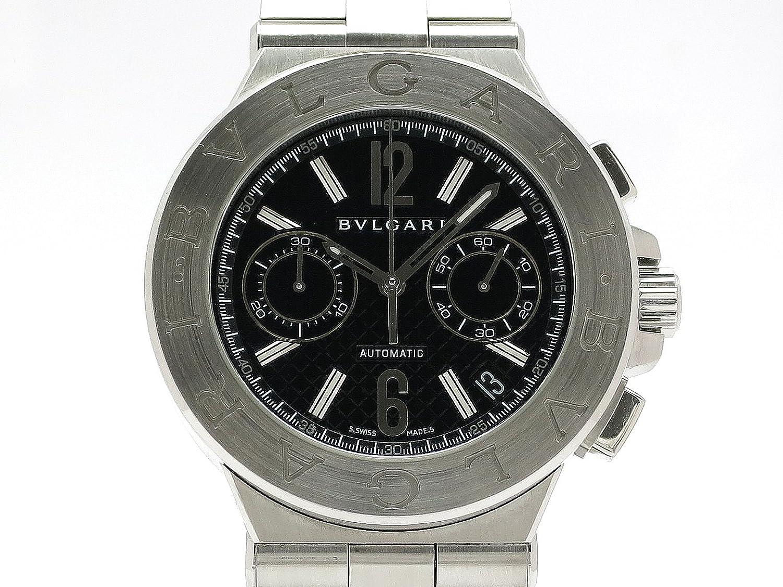 (ブルガリ) BVLGARI 腕時計 ディアゴノ クロノグラフ オートマチック SS DG40BSSDCH 中古 B07F3V11DT
