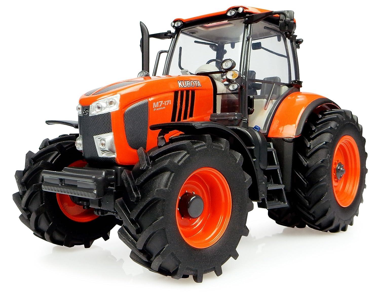 Universal Hobbies Traktor Kubota M7 171 Mit Usa Rollen Jumelã Es