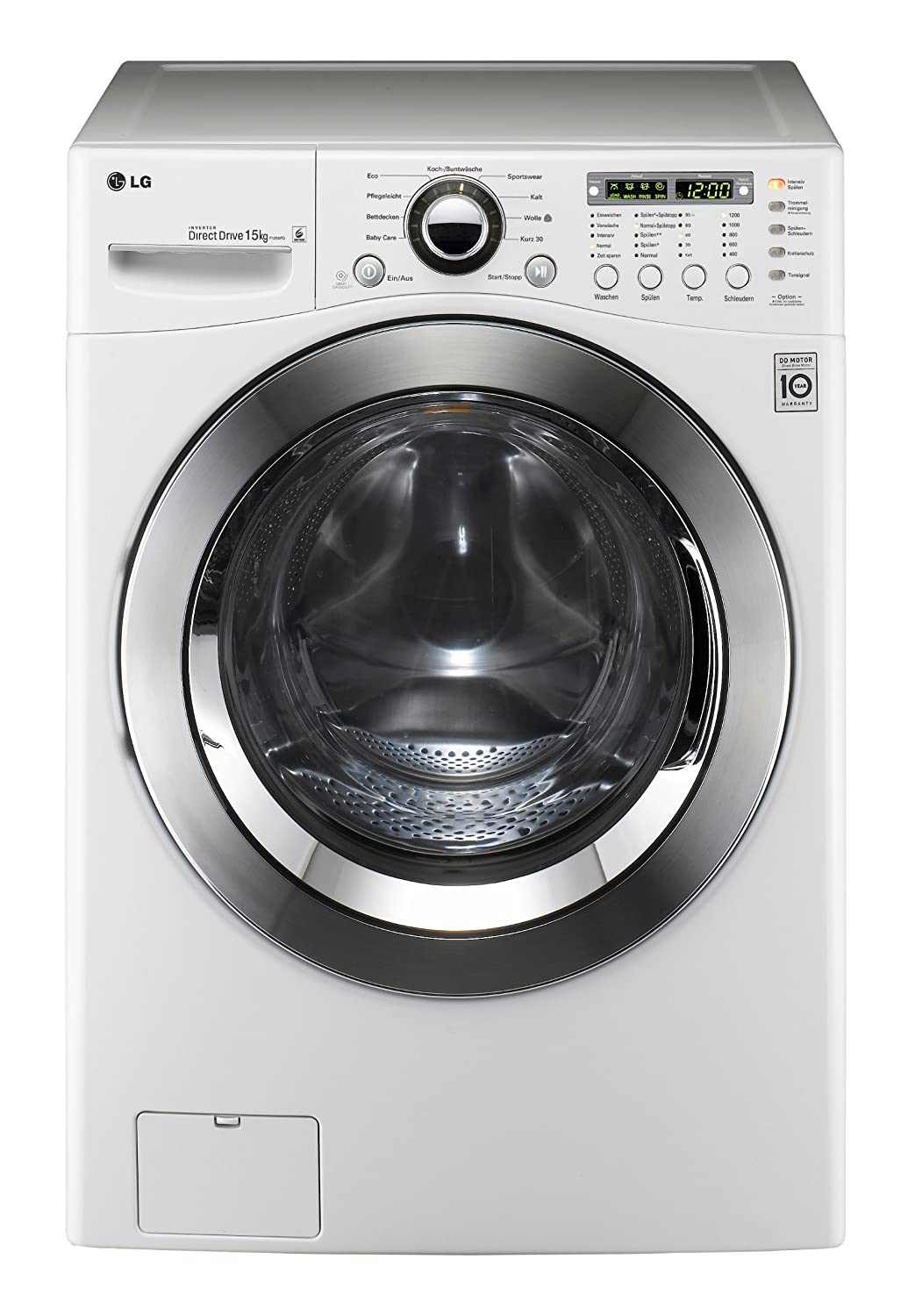 Lovely Machine A Laver 15 Kg #13: Wonderful Machine A Laver 15 Kg Lg #7: LG F1255FD Washing Machine, 15 Kg,  White: Amazon.co.uk: Business, Industry U0026 Science