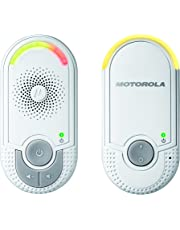 Motorola MBP8 Audio Baby Monitor with Wall-Plug Baby & Parent Unit