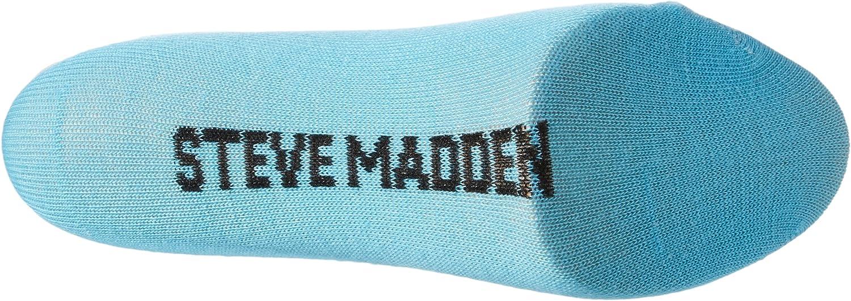 Steve Madden Legwear Womens Fishnet Anklet with Double Bar Stripe