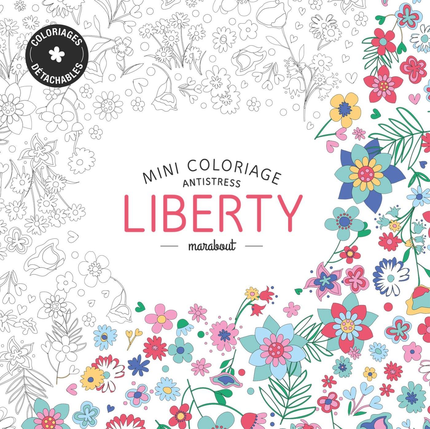 Read Online Mini coloriage anti stress Liberty (French Edition) pdf epub