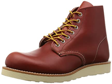Red Wing Classic Round Toe: 8166 Oro Russet Portage