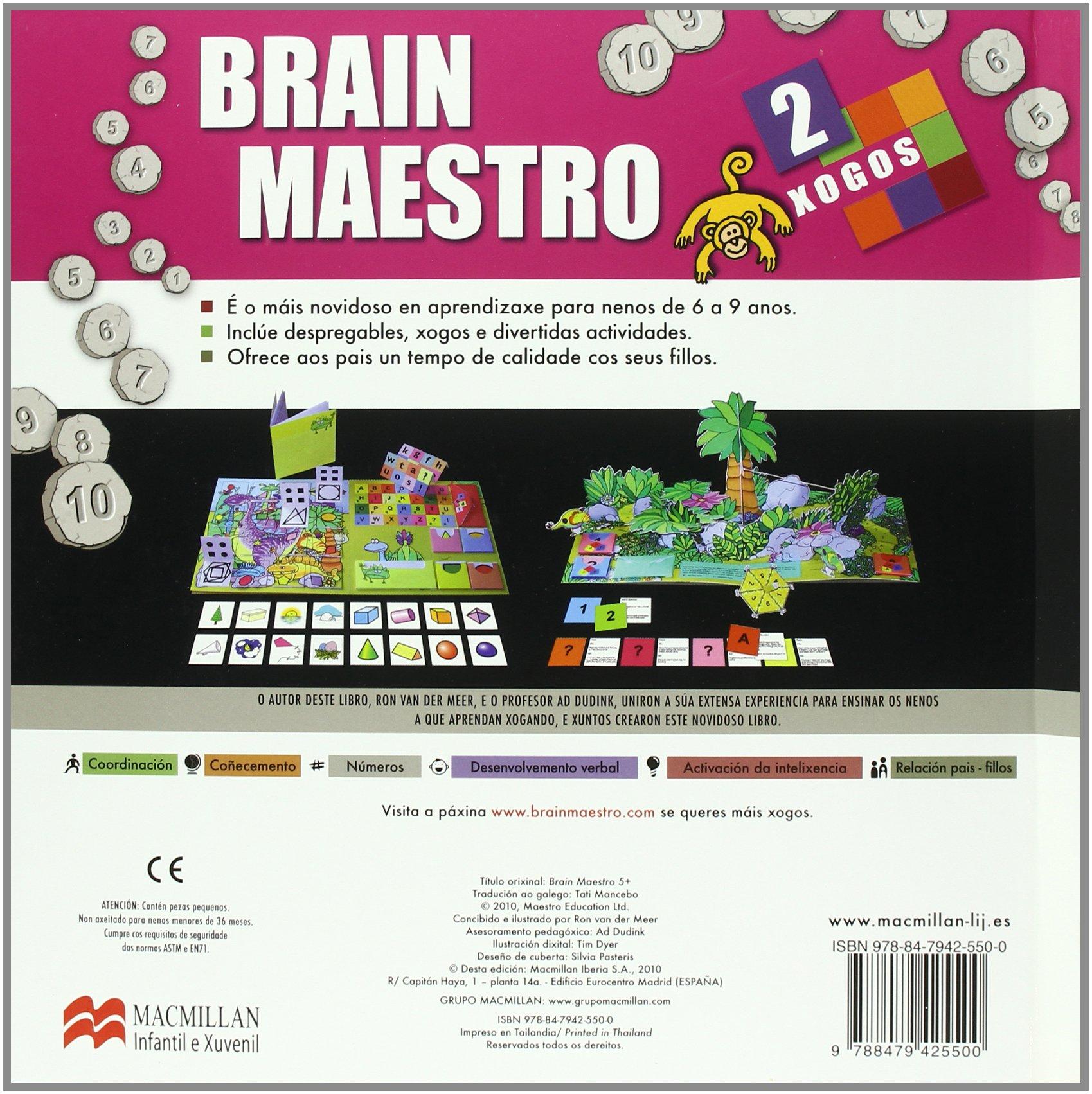 Brain Maestro 2: Amazon.es: Van der Meer, Ron, Dyer, Tim ...