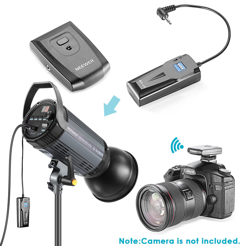 Neewer 800W Photo Studio Strobe Flash and Softbox Lighting Kit: (2)400W Monolight Flash(S-400N),(2)Reflector Bowens Mount,(2)Light Stand,(2)Softbox,(2)Modeling Lamp,(1)RT-16 Wireless Trigger,(1)Bag by Neewer (Image #5)