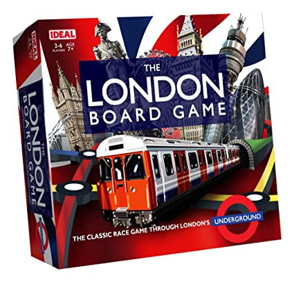 0667467564a The London Board Game from Ideal  Amazon.co.uk  Toys   Games