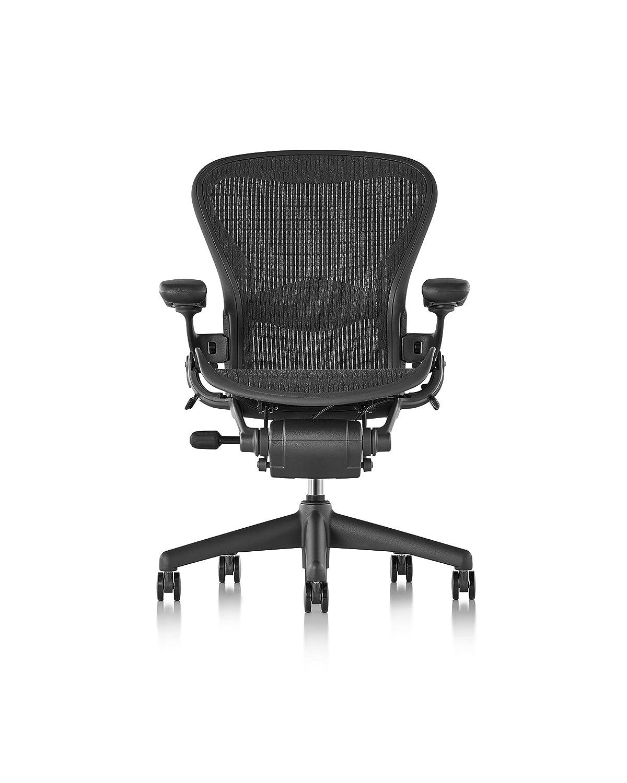 Herman Miller Classic Aeron Chair - Size B, Lumbar (Renewed)