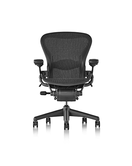 Stupendous Herman Miller Classic Aeron Chair Size B Lumbar Renewed Ocoug Best Dining Table And Chair Ideas Images Ocougorg