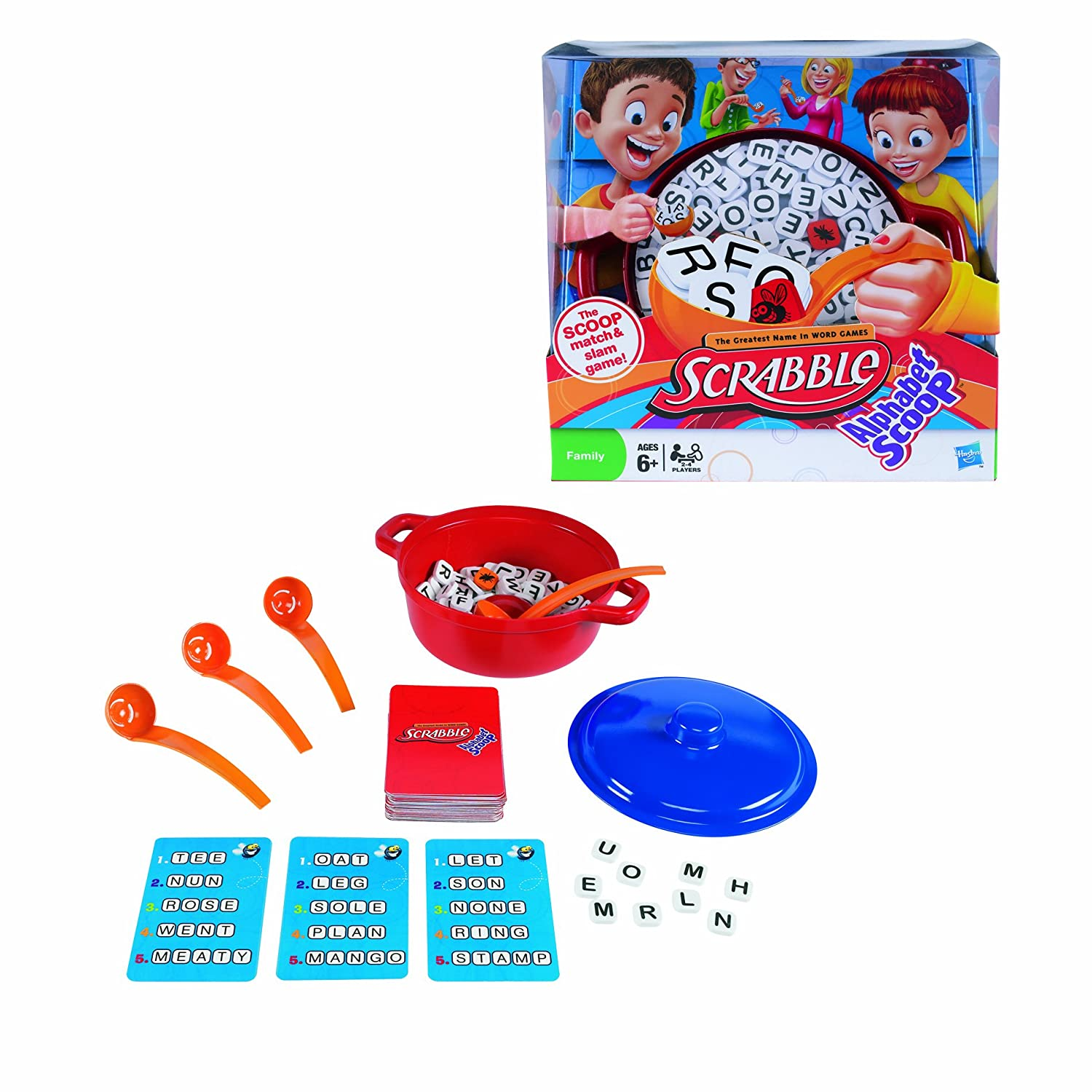 Amazon Scrabble Alphabet Scoop Toys Games