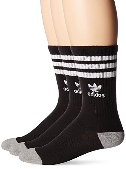 11636d78b4278 adidas Originals Kid's - Boys/Girls Roller Crew Socks (3-Pair)