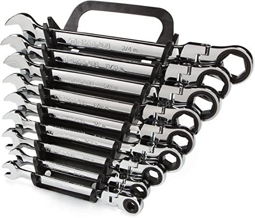 TEKTON WRN57014 Flex-Head Ratcheting Combination Wrench 3//4-Inch