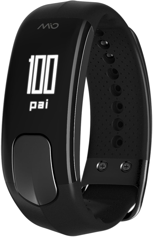 【国内正規品】MIO SLICE ミオスライス Black ブラック 継続的心拍計 ライフトラッキングデバイス アクティビティトラッカー Bluetooth SMART/Bluetooth 4.0 ANT+対応 B01N1ULGWX  S-M