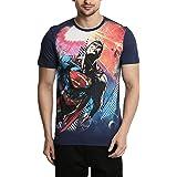 Superman Men's Printed Regular Fit T-Shirt